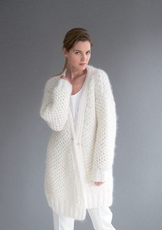 Brioche Cardigan in Rico Fashion Big Mohair and Essentials Mohair - 385 - Downloadable PDF. Discover more patterns by Rico at LoveKnitting. We stock patterns, yarn, needles and books from all of your favourite brands.