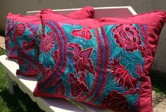 San Cristobal Collection Embroidered Upcycled Chiapas Chal Sham Pillow Ready To Ship