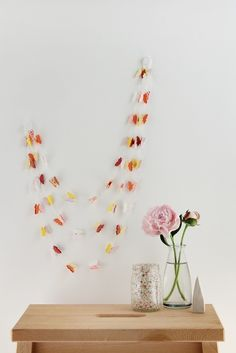 Butterfly Garland Sorbet by thisneckofthewoods on Etsy