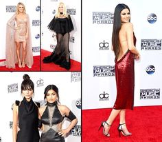 Music's finest attended the American Music Awards 2015 on Sunday, Nov. See the stars' styles here. Celebrity Gossip, Celebrity Style, American Music Awards 2015, Red Carpet Gowns, Fashion And Beauty Tips, Marie Gomez, Red Carpet Fashion, American Actress, Two Piece Skirt Set