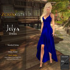 Julya is an exclusive item for the SCALA™ – The Yin/Yang Event July Round which start July 15-31, 2017. The dress is on Standard Sizing but you can wear it on your Mesh Body too. – You …