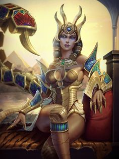More Smite work! This one's the Gravehound skin for Anubis, and it was a ton of fun! © Hi-Rez Studios Anubis Gravehound Egyptian Mythology, Egyptian Goddess, Fantasy Women, Fantasy Girl, Fantasy Characters, Female Characters, Fictional Characters, Bastet, Egyptian Queen