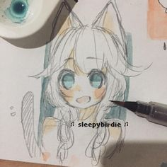 Sorry repost// i forgot to put in my name xD Doodled with 4B pencil