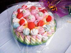Confezione torta di caramelle