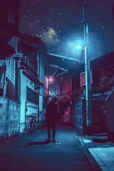 city portrait photography in night Cyberpunk City, Ville Cyberpunk, Cyberpunk Aesthetic, Urban Photography, Night Photography, Street Photography, Portrait Photography, Night Aesthetic, City Aesthetic