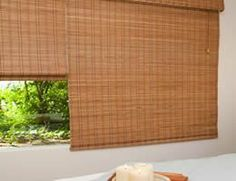 Tavarua Basics Bamboo Discount Window Shades - opt. Top Down by BlindsChalet. $36.54. Custom made Bamboo Woven Wood Shades up to 24'' wide by 36'' high. Poised, stylish simplicity that hints at exotic is the bottom line with our Tavarua Basics Bamboo Shades.