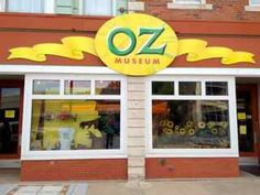 The Wizard of Oz Museum in Wamego, Kansas.