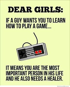 Dear Girls...