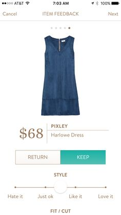 Pixley Harlowe Dress. I love Stitch Fix! Personalized styling service and it's amazing!! Fill out a style profile with sizing and preferences. Then your very own stylist selects 5 pieces to send to you to try out at home. Keep what you love and return what you don't. Try it out using the link! #stitchfix @stitchfix. Stitchfix Spring 2016. Stitchfix Summer 2016. https://www.stitchfix.com/referral/5634870.