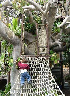 Toni's Tree House / Hamilton Children's Garden / San Diego Botanic Garden.