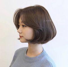 Haircuts Straight Hair, Short Hair Cuts, Shot Hair Styles, Curly Hair Styles, Korean Short Haircut, Hair Job, Honey Brown Hair, Medium Hair Styles For Women, Short Hair Trends