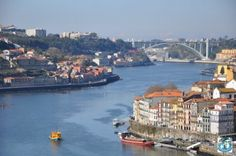 The second largest city in Portugal, beautiful Porto lies on Douro River.  This city is a real gem and a must visit