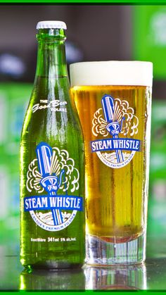 Steam Whistle Pilsner is the most satisfying and refreshing beer option. All Beer, Best Beer, Canadian Beer, Tequila, Beer Packaging, Packaging Design, Beer Brands, Beer Recipes, How To Make Beer