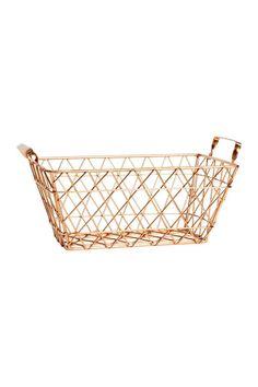 Petite Corbeille En Métal. Hallway IdeasWire BasketsShop ...