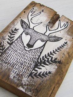 Inspired by salvaged 100+ year old barn board canvases from our heritage farm, I am creating a unique collection of ink paintings on these beautiful,