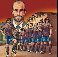 God Of Football, Football Kits, Football Soccer, Fc Barcelona, Soccer Drawing, Don Juan, Sports Art, Pop Art Design, American Football