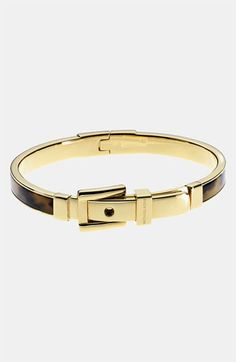 Michael Kors 'Heritage' Buckle Bangle available at #Nordstrom