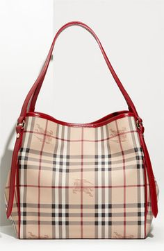 Burberry Haymarket Check Tote available at #Nordstrom