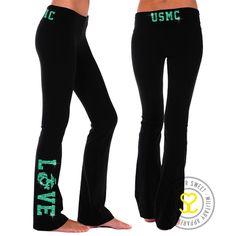 USMC Love Yoga/Lounge Pants