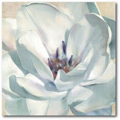 Shop for Portfolio Canvas Decor Iridescent Bloom II Canvas Wall Art. Get free delivery On EVERYTHING* Overstock - Your Online Art Gallery Store! Get in rewards with Club O! Oil Painting Flowers, Watercolor Flowers, Flower Paintings, Art Floral, Flower Canvas, Flower Art, Art Paintings, Painting Prints, Canvas Wall Art
