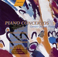 !**** Tchaikovsky & Rachmaninov: Piano Concertos - Garrick Ohlsson,Neville Marriner,Academy of St. Martin-in-the-Fields   Hans. 98932