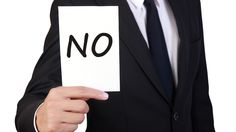 10 reasons to learn to say 'No'