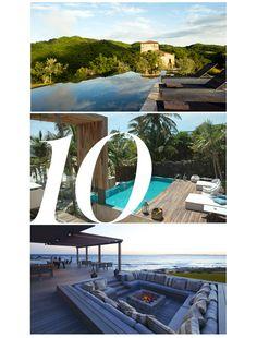 Le Guide du Week-end Spécial Hôtels d'Été | http://www.vogue.fr/culture/le-guide-du-week-end/diaporama/le-guide-du-week-end-special-hotels-d-ete/8616