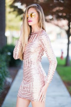 Rose gold sequins #swoonboutique