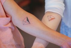 Triangule, tattoo.
