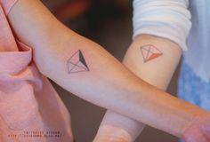 Minimalistic Tattoos by Seoeon