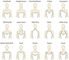 Dress shapes.
