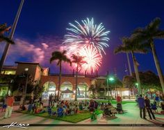 Jupiter Florida 4th of July Fireworks Roger Dean Stadium