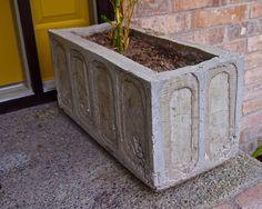 diy concrete planter, concrete masonry, diy renovations projects, gardening, Finished planter