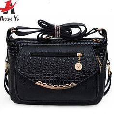 Atrra-Yo! women leather handbag women bag messenger bags shoulder bag brand high quality handbags women's pouch mom bag LS4754ay
