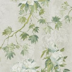 Floreale by Designers Guild - Natural - Wallpaper : Wallpaper Direct Scenic Wallpaper, Fabric Wallpaper, Wallpaper Roll, Room Wallpaper, Designers Guild Wallpaper, Designer Wallpaper, Free Wallpaper Samples, Tricia Guild, Custom Made Furniture