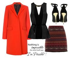 """""""Untitled #159"""" by ema-jones on Polyvore featuring Paul Smith, Halston Heritage and Balmain"""