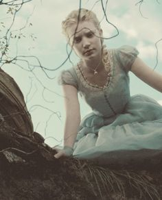 """""""I knew who I was this morning, but I've changed a few times since then."""" ― Lewis Carroll, Alice's Adventures in Wonderland  Through the Looking-Glass [Credit - Mia Wasikowska in Tim Burton's version of Alice.]"""