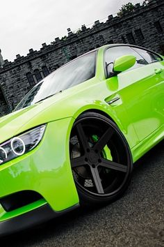 BMW - I'm not crazy about cars, but I must say this one looks pretty badass!