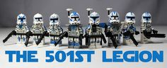 Lego Star Wars: The Clone Wars | The 501st Legion by LegoMatic9, via Flickr