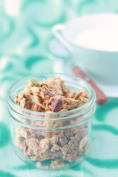 Kitchen Heals Soul: Granola clusters for real!
