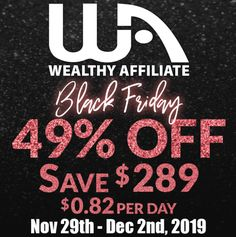 The best buy in black Friday specials is finally here, if you have been looking for online training to start your own affiliate marketing business look no How To Find Out, How To Make Money, Internet Entrepreneur, Black Friday 2019, Starting Your Own Business, Affiliate Marketing, Online Business, How To Plan, Amazon Products