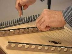 Tuning the Hammered Dulcimer part 1 - YouTube