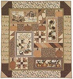 Pumpkin Patch Primitives Quilt Shoppe: Pumpkin and Spice quilt