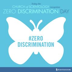 The Church of Scientology participates in #ZeroDiscrimination Day. We embrace diversity and are committed to human rights for all.