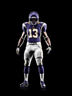 New NFL uniforms: Minnesota #Vikings