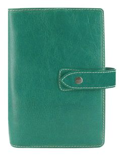 Filofax Personal Malden Aqua Leather Organizer (on my Bday wishlist)