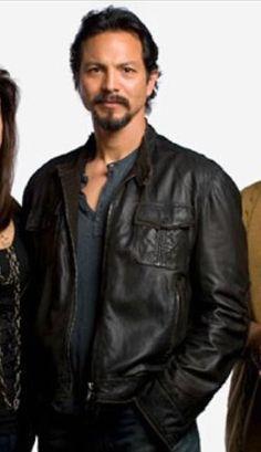 Men's Leather Jacket, Faux Leather Jackets, Benjamin Bratt, Jacket Style, Leather Fashion, Banks, Sexy Men, Bomber Jacket, Women Wear