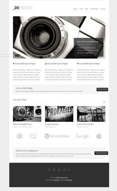 dePosito WordPress Portfolios Theme
