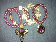 Handmade  bracelet  set   By  leeletitia_accessories