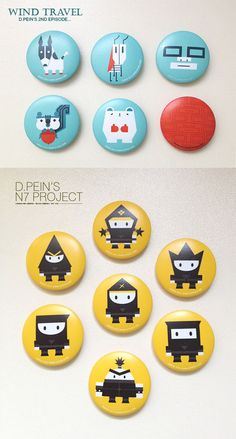 Creative Pins and Buttons Designs For Your Inspiration
